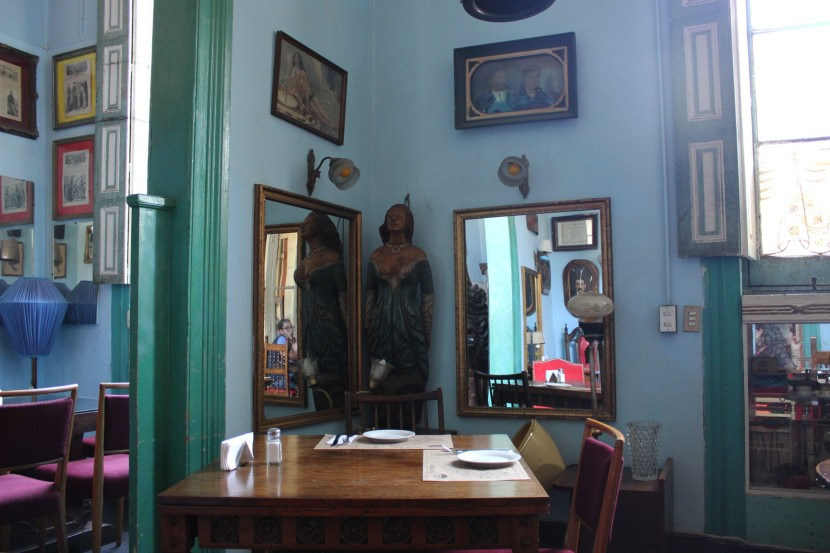 Detalles del comedor del restaurante  Boulevard Lavaud-Buenavida