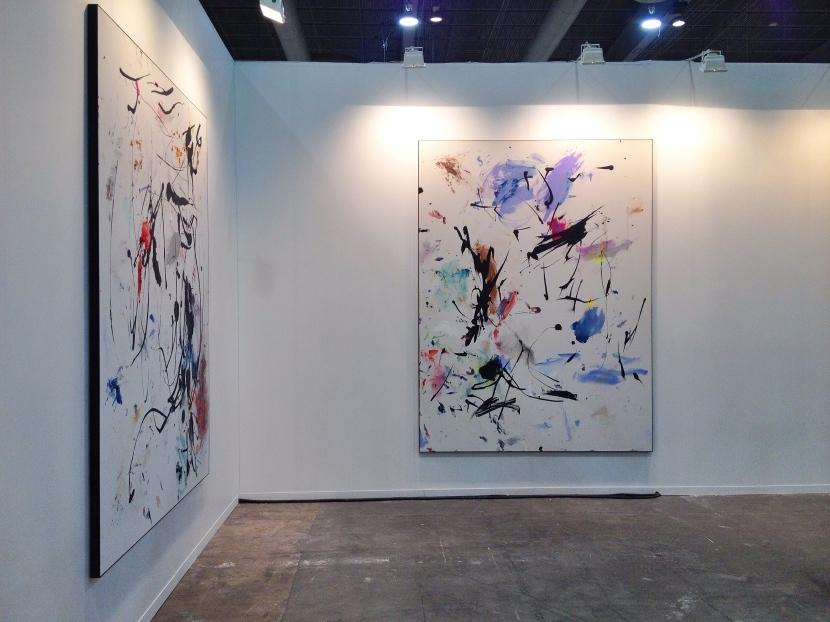 Obra de Secundino Hernández en Zona Maco 2015 presentada por la Galería Heinrich Ehrhardt
