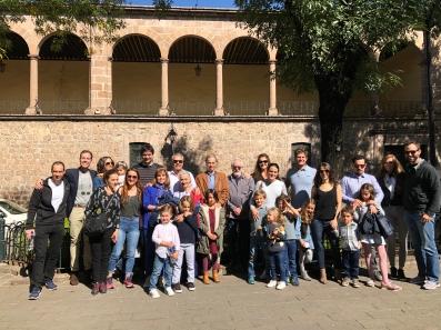 Familia Alvarez en el Jardín de las Rosas