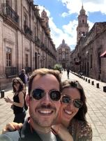 Selfie con Priscila en Morelia