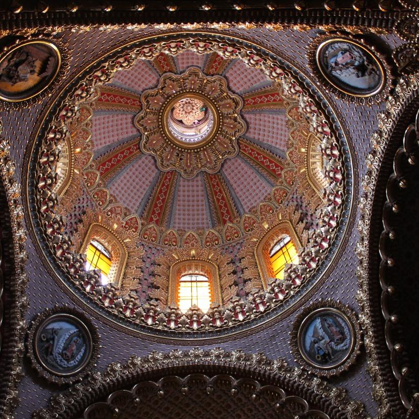 Cúpula principal del Santuario de la Virgen de Guadalupe